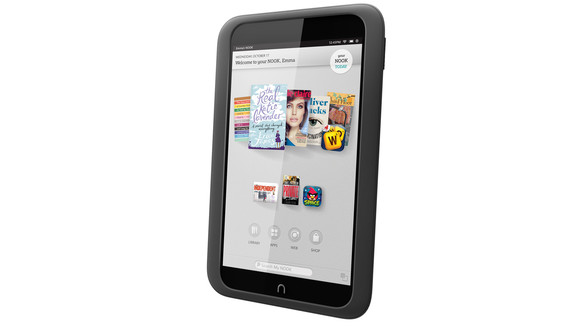 hard reset nook hd tablet