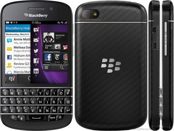 hard resetting balckberry q10